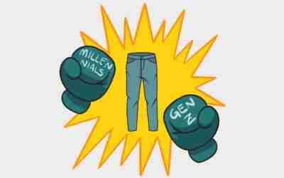 Generazione Z vs Millennials: quando il jeans diventa motivo di scontro